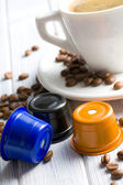 Espresso capsules — Stock Photo