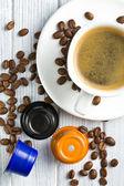 Espresso capsules — Stock Photo