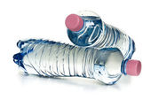 Plastic water bottles — Stock Photo