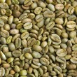Stock Photo: Green coffee beans