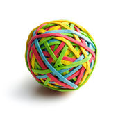 Rubber band ball — Stockfoto