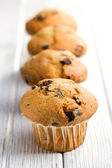Delicioso muffin de chocolate — Foto de Stock