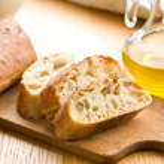 Sliced ciabatta bread — Stock Photo #14386025
