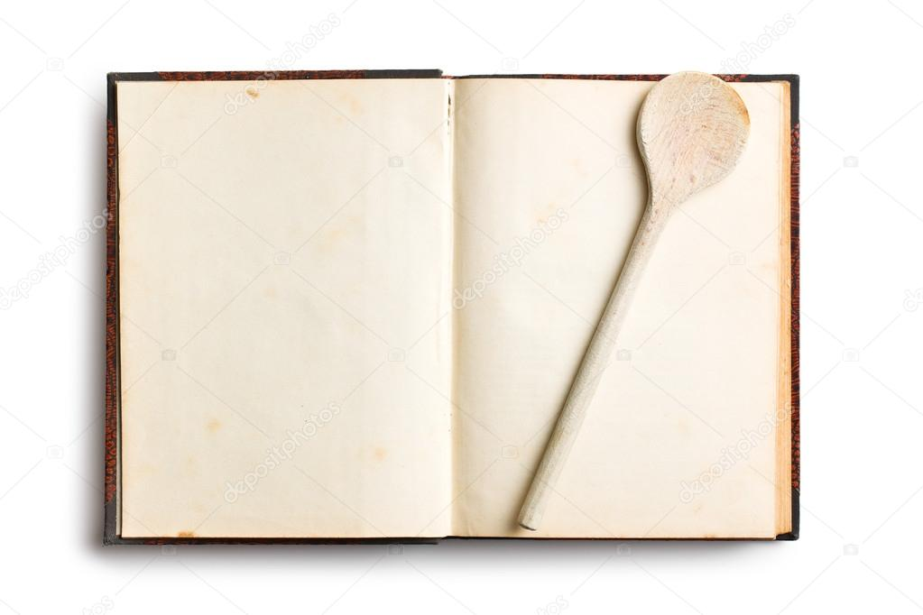 Vieux livre de recette vierge photographie jirkaejc - Livre de cuisine vierge ...