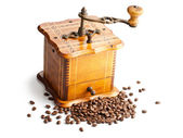 Antique coffee mill — Stockfoto