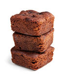 Chocolate brownies dessert — Stock Photo
