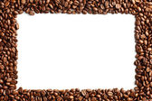 Coffee beans pattern — Stock Photo