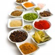 Various spices and herbs. — Stock Photo #21030285