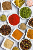 Various spices and herbs. — Stock Photo