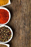 Various spices. — Stock Photo