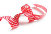 Checkered ribbon — Stock Photo