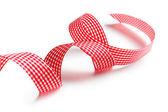 Checkered ribbon — Stock Photo