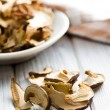 Dried mushrooms — Stock Photo