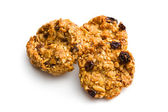 Homemade cookie with oat flakes — Stockfoto