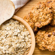 Homemade cookie with oat flakes - Stock fotografie