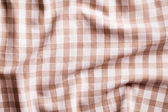Crumpled tablecloth — Stock Photo