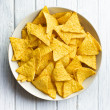 Corn nachos — Stock Photo