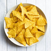 Corn nachos — Stock Photo