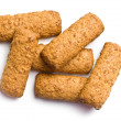Stock Photo: Wholemeal cookies