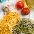 Italian pasta tagliatelle — Stock Photo #30503423