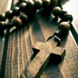 Stock Photo: Rosary beads