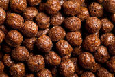 Bolas de cereales chocolate — Foto de Stock