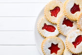 Jelly christmas cookies — Stock Photo