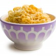 Boiled chinese noodles in bowl — Stock Photo #37097345