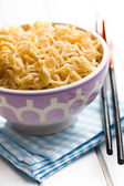 Boiled chinese noodles — Stock Photo