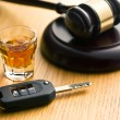 Concept for drink driving — Stock Photo #41249935