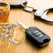 Concept for drink driving — Stock Photo #41249979
