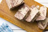 Pieces of tasty halva — Stock Photo