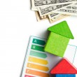 Concept of the house energy saving — Stock Photo