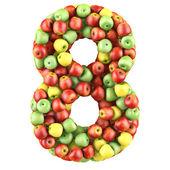 Huit issus de pommes — Photo