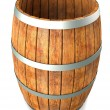 Wooden barrel. — Stock Photo #20197865
