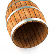 Wooden barrel. — Stock Photo