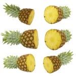 Set of Ripe pineapple. — Stock Photo #42991215
