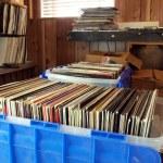 Vinyl records — Stock Photo #14704455