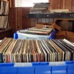 Vinyl records — Stock Photo #14704457