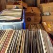 Vinyl records — Stock Photo #14704461