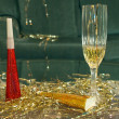 Stock Photo: New years eve background