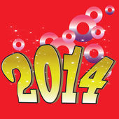2014 vector banner — Stock Photo