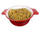 Stuffing in red bowl — Stock Photo