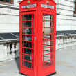 London red telephone box - Stock Photo