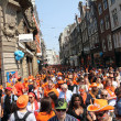 Stock Photo: Queen's Day in Amsterdam