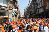 Queen's Day in Amsterdam — Stockfoto