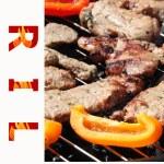 Menu's page — Stock Photo