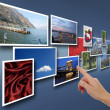Photo in the network — Stock Photo