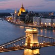 View of Budapest - Foto Stock