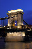 Budapest in der nacht — Stockfoto